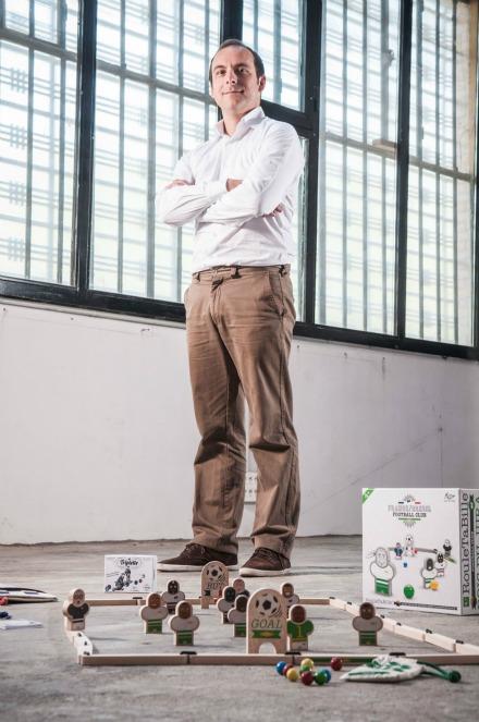 Julien Guichard, fondateur des Jouets libres