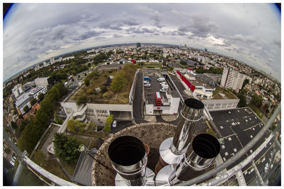 vue sur les toits de Mozinor