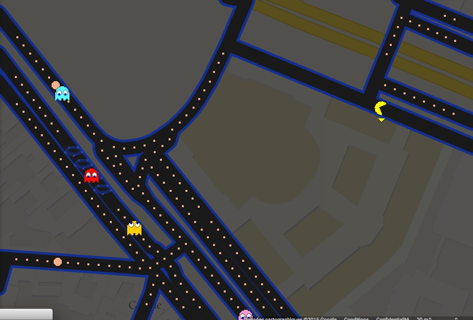 Pac-Man à Versailles