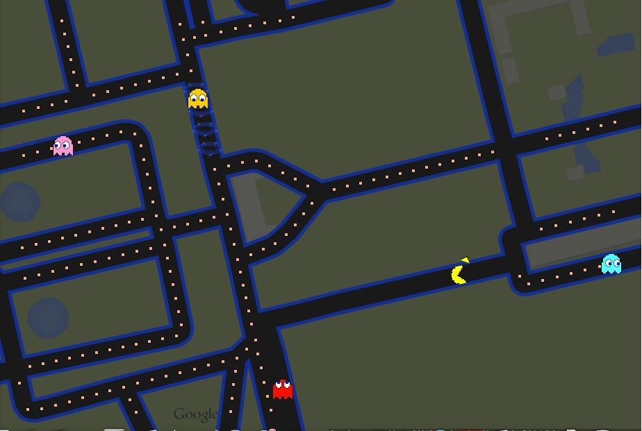 Pac-Man au parc de Sceaux