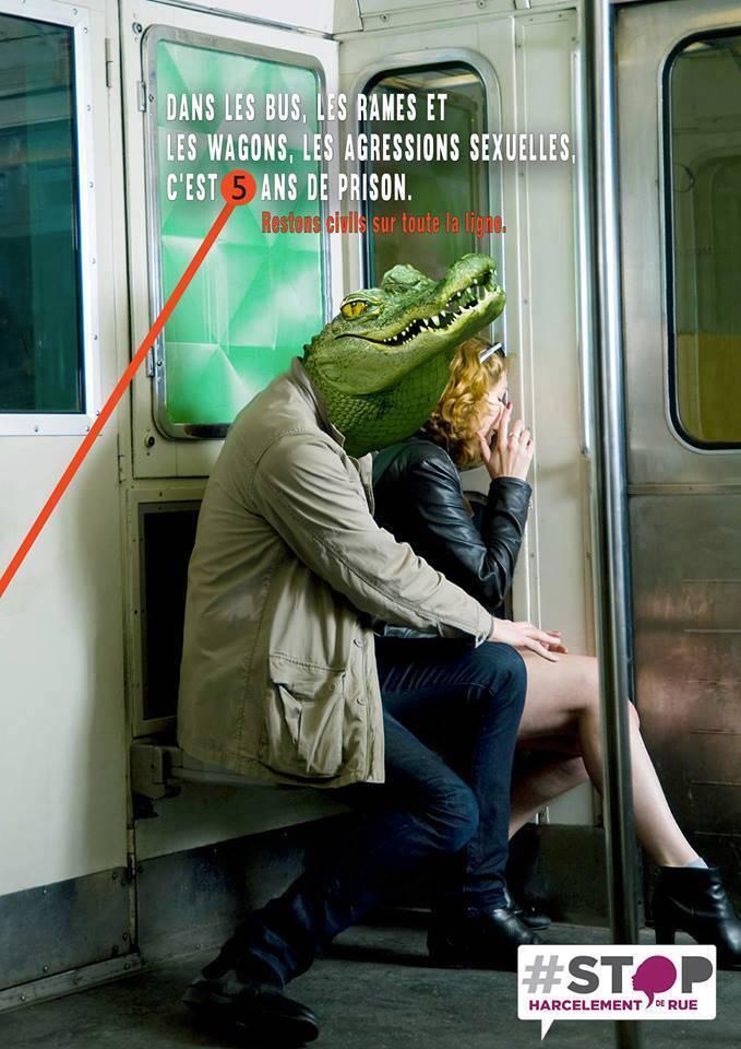 Stop harcèlement métro