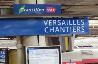 Coup de foudre à Versailles-Chantiers