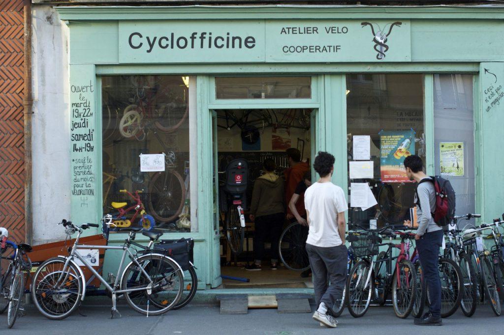 Cyclofficine d'Ivry / © Lucinda Terreyre