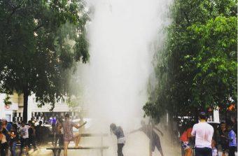Les geysers du Grand Paris