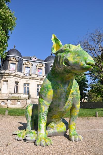 Sculptures en l'île à Andrésy / © Yvelines tourisme