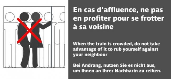 Harcèlement transports  / © Osez le Féminisme