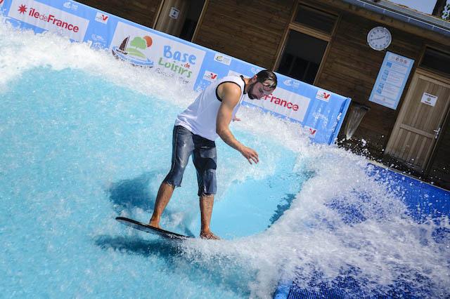 Vague à surf à Cergy