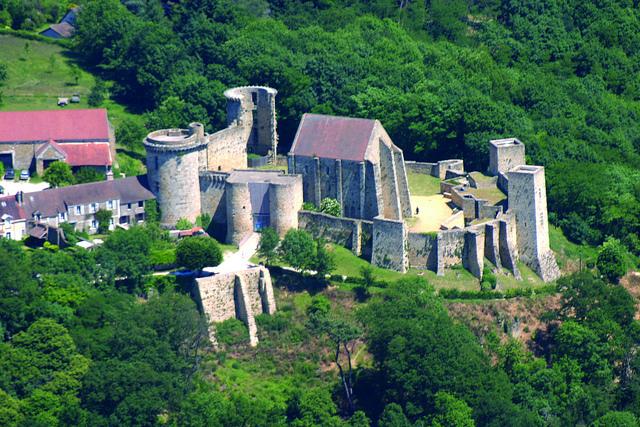 Château de la Madeleine à Chevreuse / © Conseil général des Yvelines