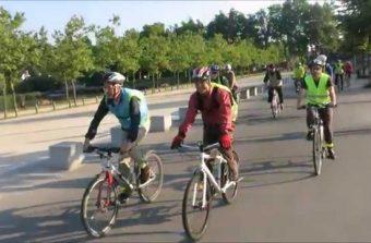 Les bus cyclistes : vélo, boulot, dodo