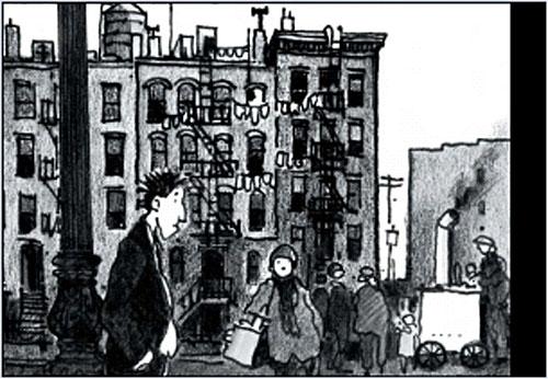 Clichy par Jacques Tardi. (c. Gallimard / Tardi)