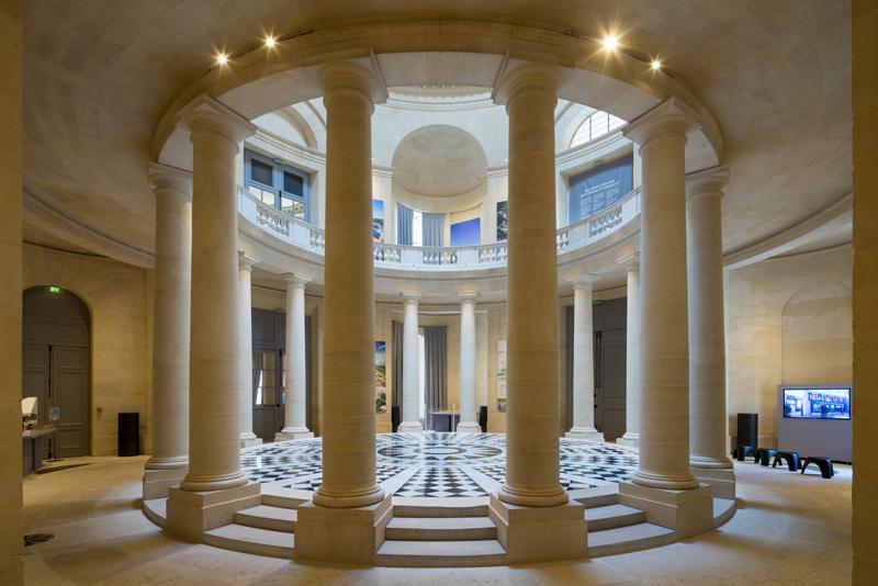 L'Espace Richaud dans l'hôpital royal de Versailles / © Nicolas Borel