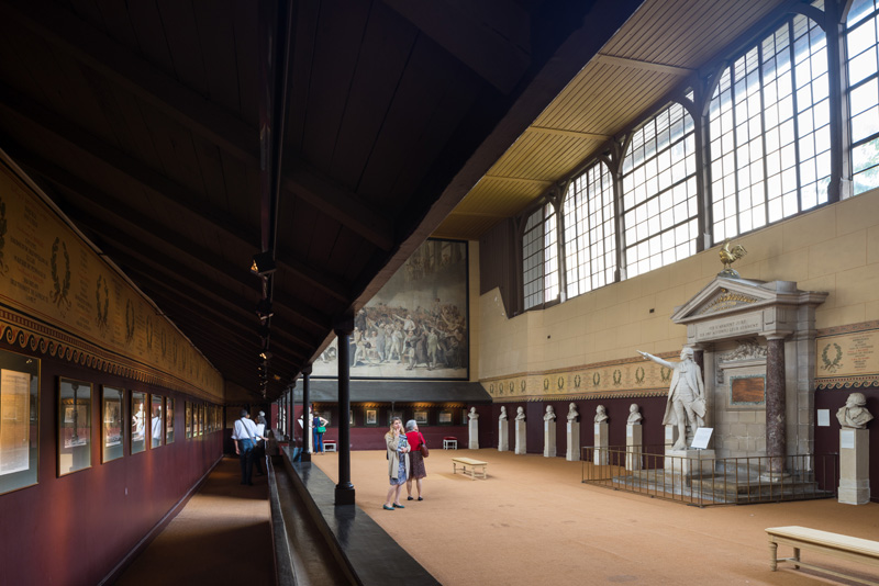 Salle du Jeu de Paume à Verasilles / © Nicolas Borel
