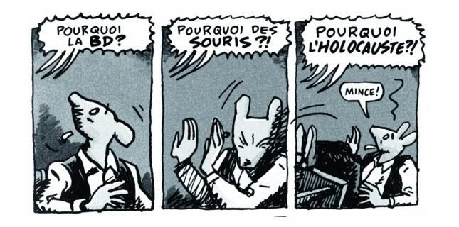 """""""Maus"""" d'Art Speigelman"""
