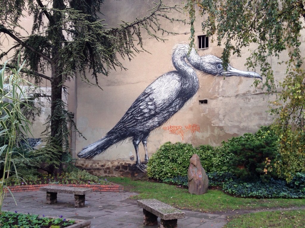 Street art à Vitry / © Steve Stillman