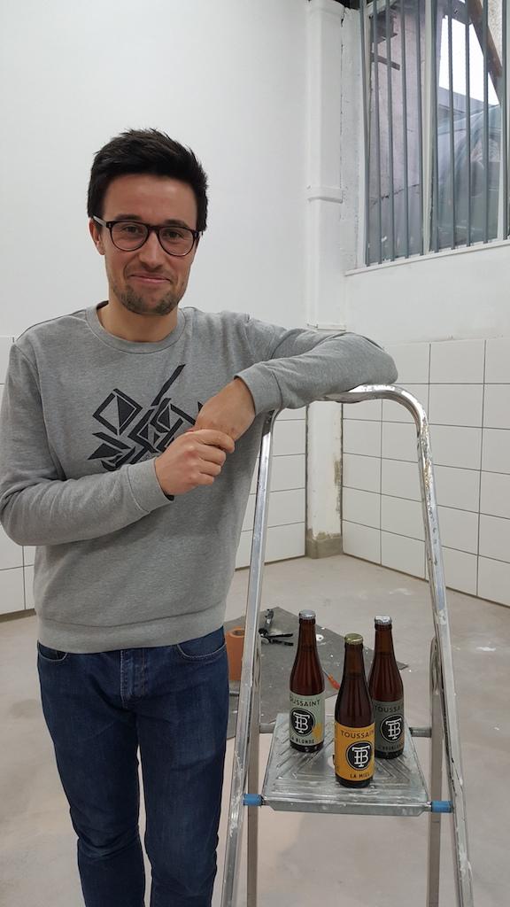 Clément Toussaint, micro-brasseur dans le 78 / © Alexia Lefeuvre