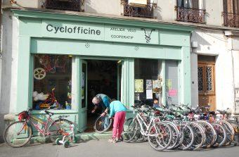 Une carte des ateliers vélos participatifs