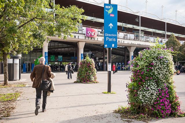 La gare de Saint-Denis - Stade de France / © Gérard Rolando - Société du Grand Paris