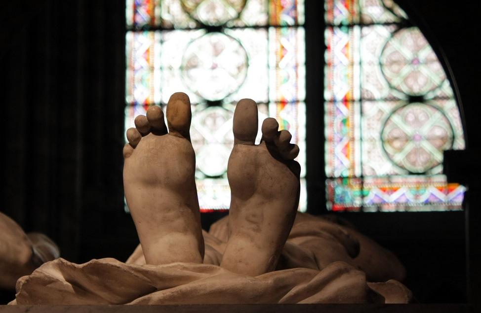 #jesuisnonchalant à la basilique Saint-Denis / ©  Jori Avlis