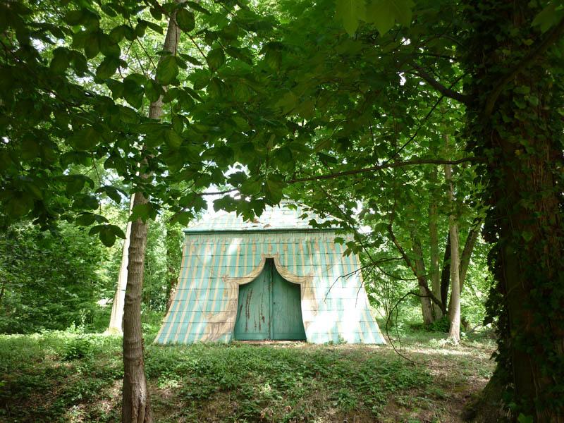 La tente Tartare du Désert de Retz / © Office de tourisme des Yvelines