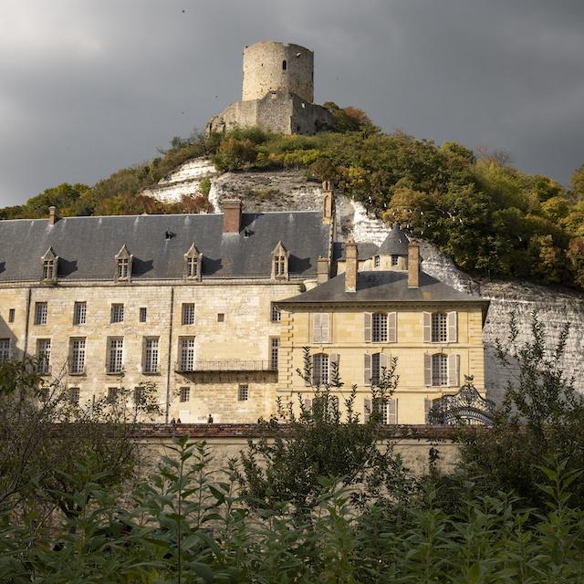 Le château de La Roche-Guyon / © Jérômine Derigny pour Enlarge your Paris