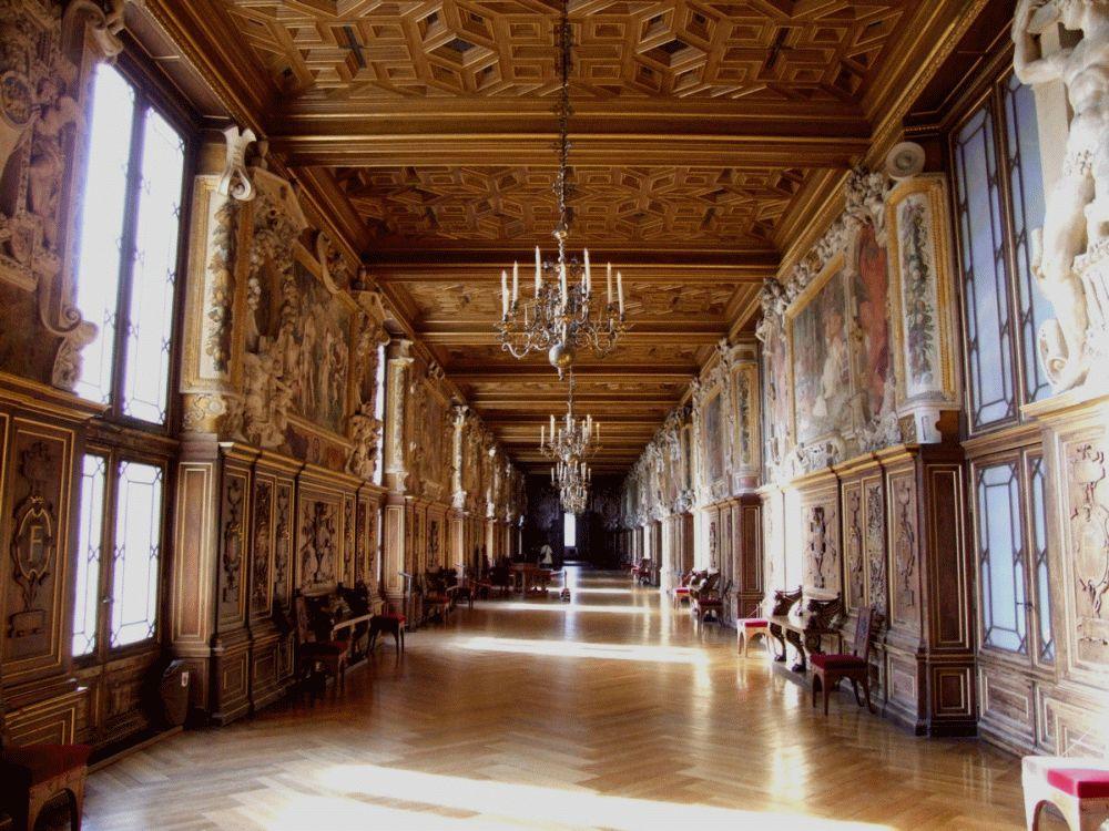 Galerie François 1er au château de Fontainebleau / DR