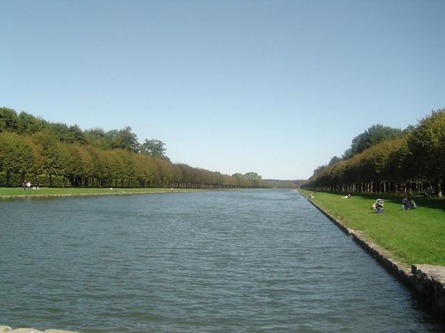 Grand canal à Fontainebleau / Crédit : Seine-et-Marne Tourisme