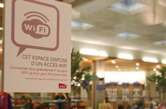 Le WiFi entre en gare