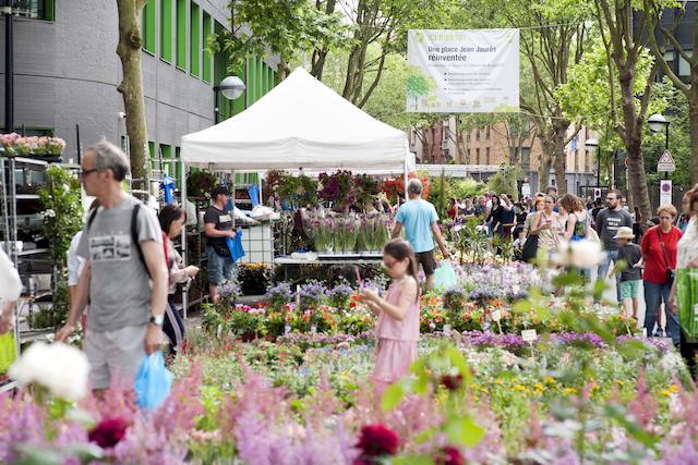 Le marché aux fleurs du festival Inspirations végétales à Montrouge / ©  Ville de Montrouge