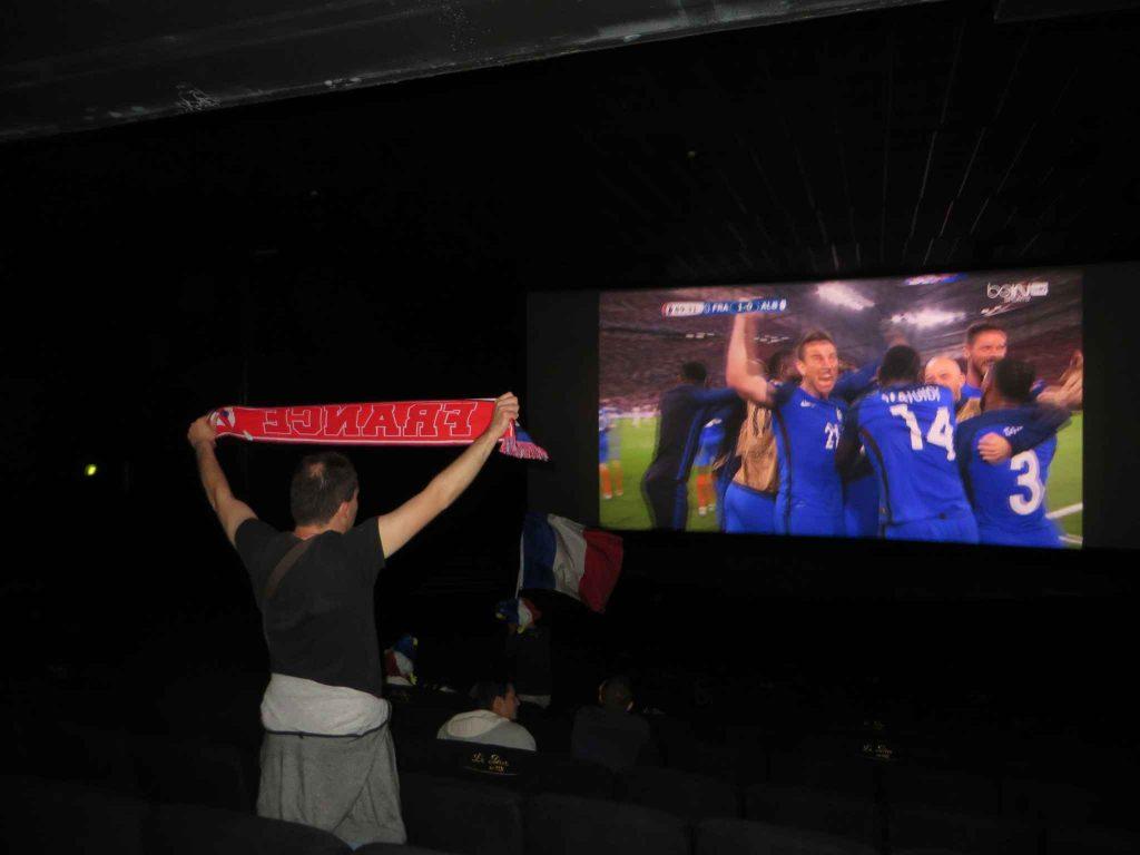 le foot au ciné