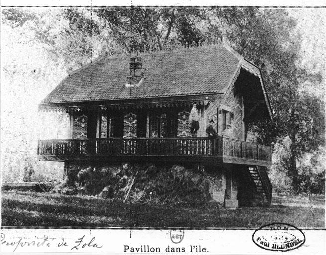 Maison de Zola sur l'île du Platais / © Inventaire general ADAGP