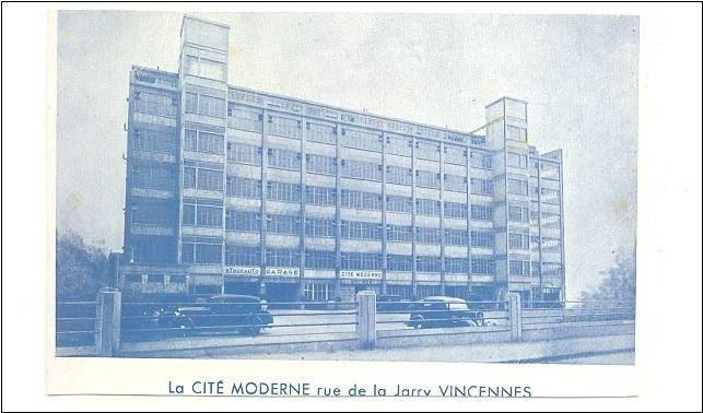 Cité de la Jarry à Vincennes / DR