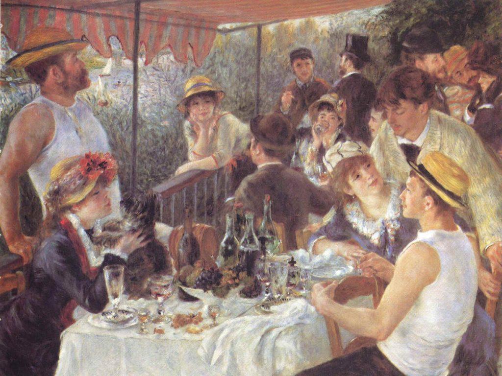 """""""Le déjeuner des canotiers"""" de Renoir / DR"""