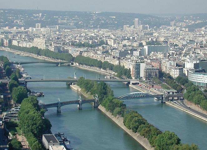 Ile aux cygnes / © Eau de Paris