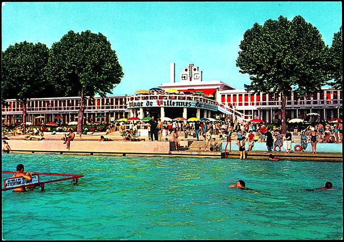Plage de Villennes sur l'île du Platais (78) / DR