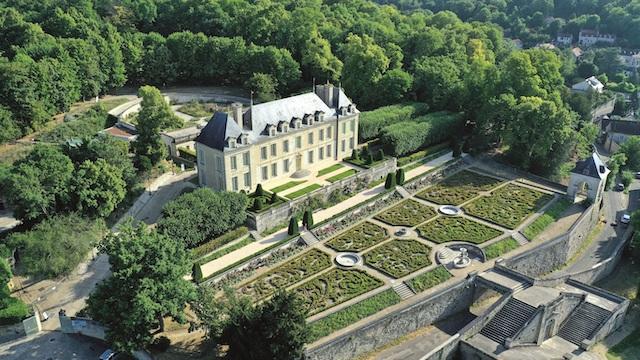 Le château d'Auvers et ses jardins à Auvers-sur-Oise / © Château d'Auvers