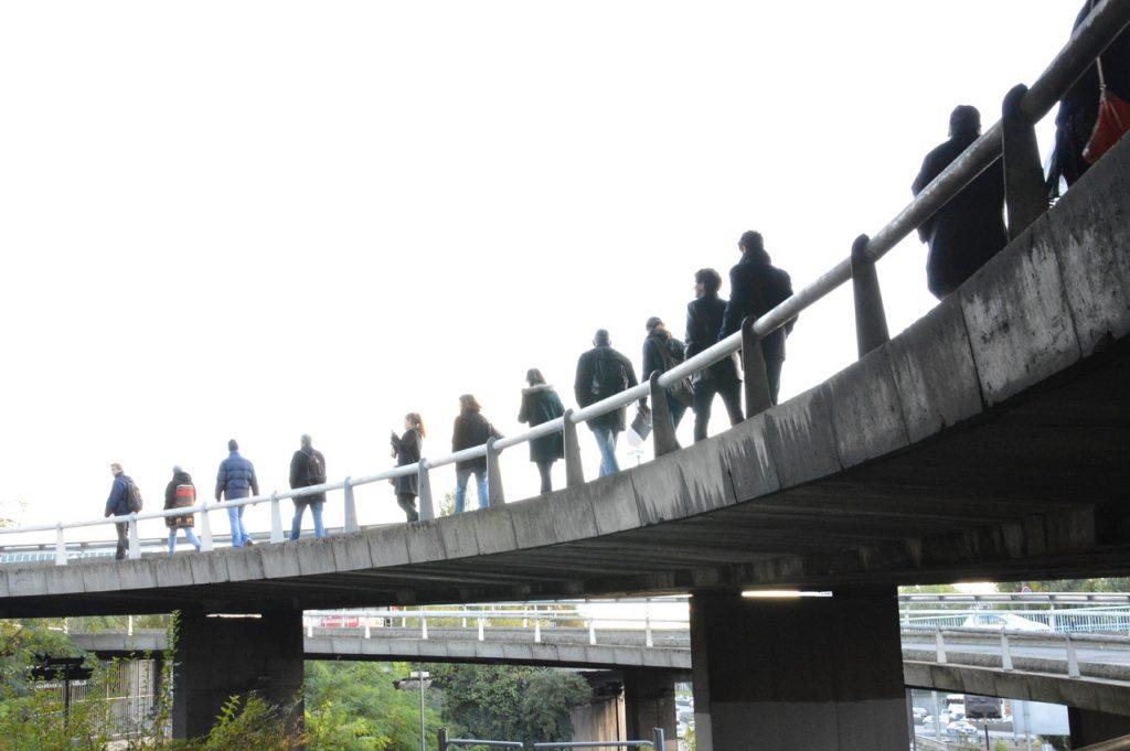 Marche d'A Travers Paris à la porte de Bagnolet / DR