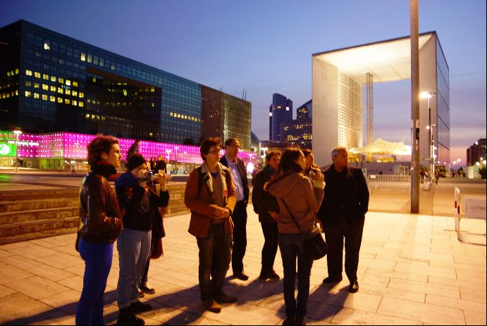 A Travers Paris à La Défense / Crédit : Hadrien Le Bail Voisin