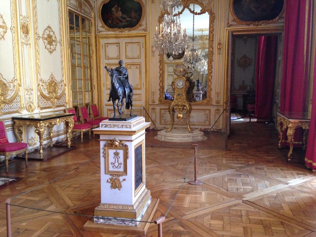 Visite guidée des appartements privés de Louis XV et Louis XVI à Versailles / © Steve Stillman