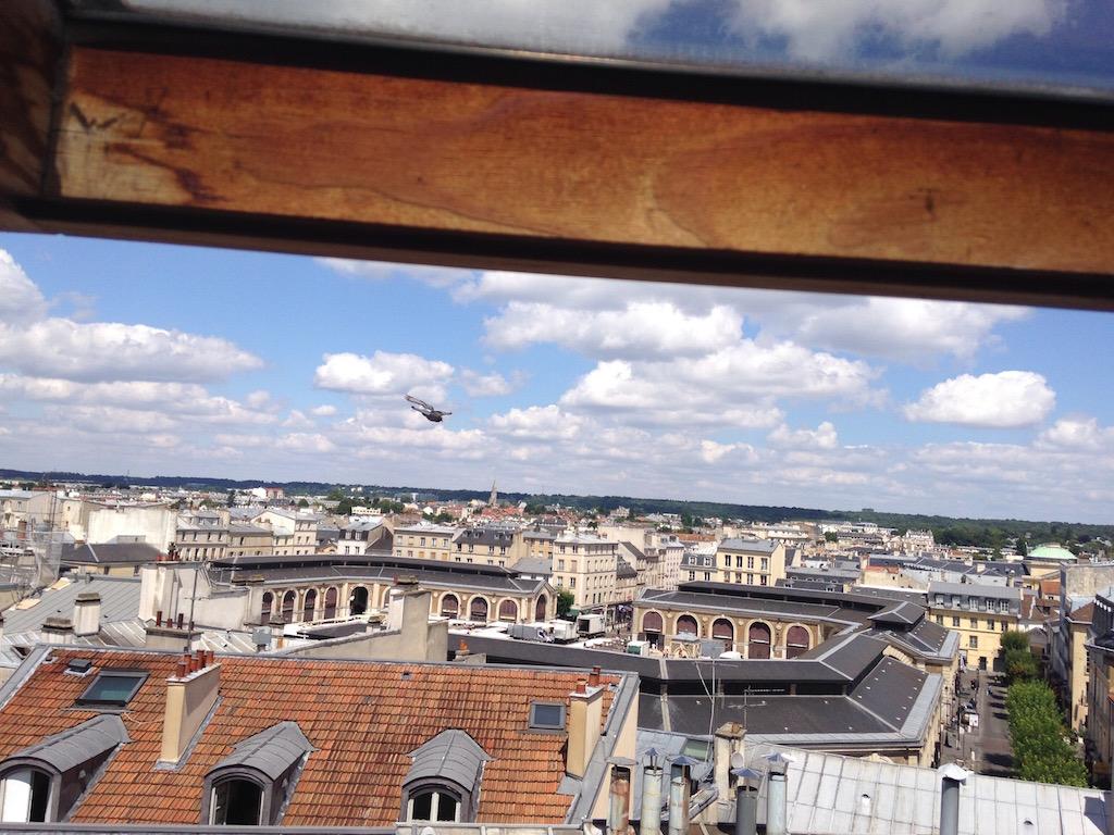 Vue de l'appartement d'Aurélie sur Airbnb / DR