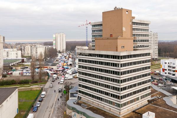Tour Utrillo, futur écrin du projet Médicis Clichy-Montfermeil / DR