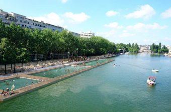 Le bassin de la Villette bientôt ploufable