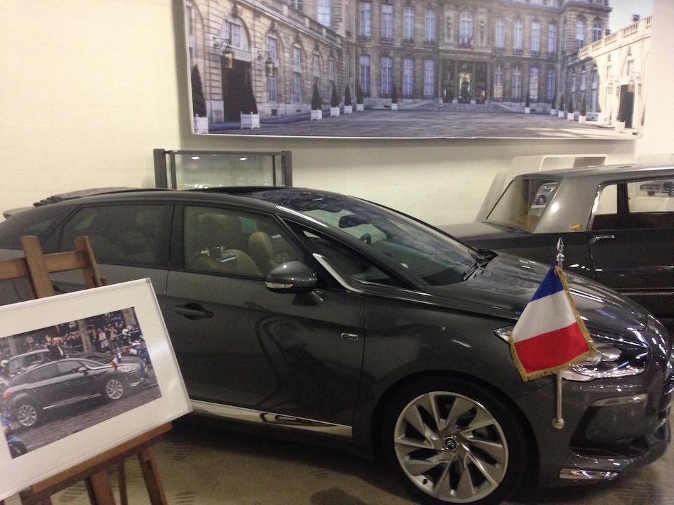DS5 présidentielle au Conservatoire Citroën à Aulnay / © Steve Stillman