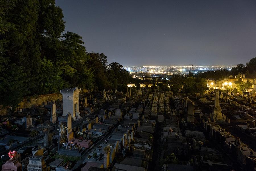 Vue depuis le cimetière de Romainville / © Pierre-Yves Brunaud - Picturetank