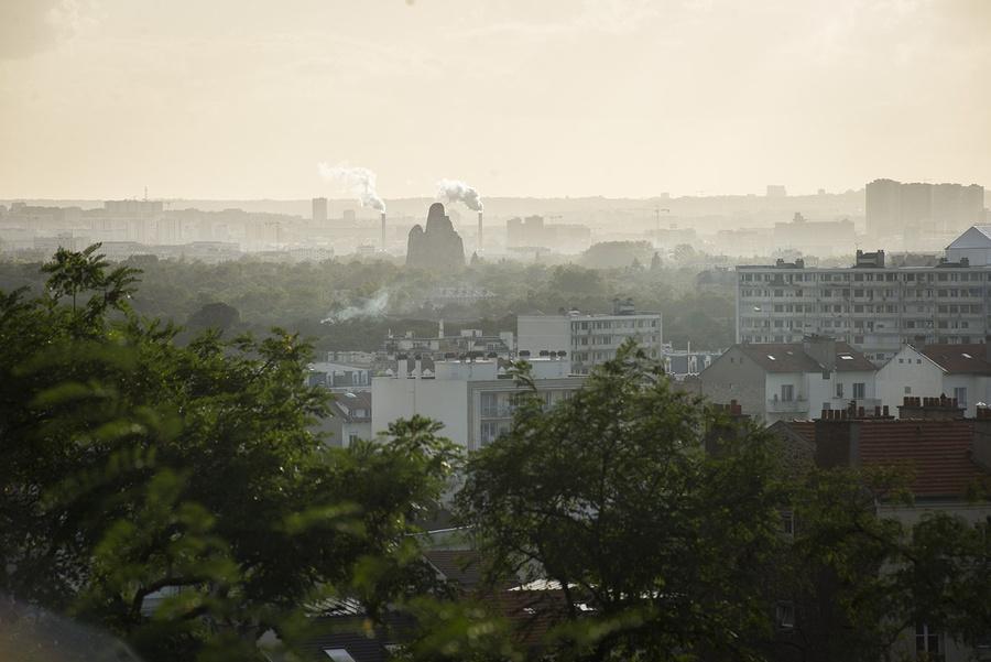 Vue depuis le parc Jean-Moulin à Montreuil-Bagnolet (93) / © Marie Genel