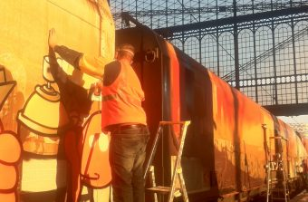 Comment un train est devenu oeuvre d'art !