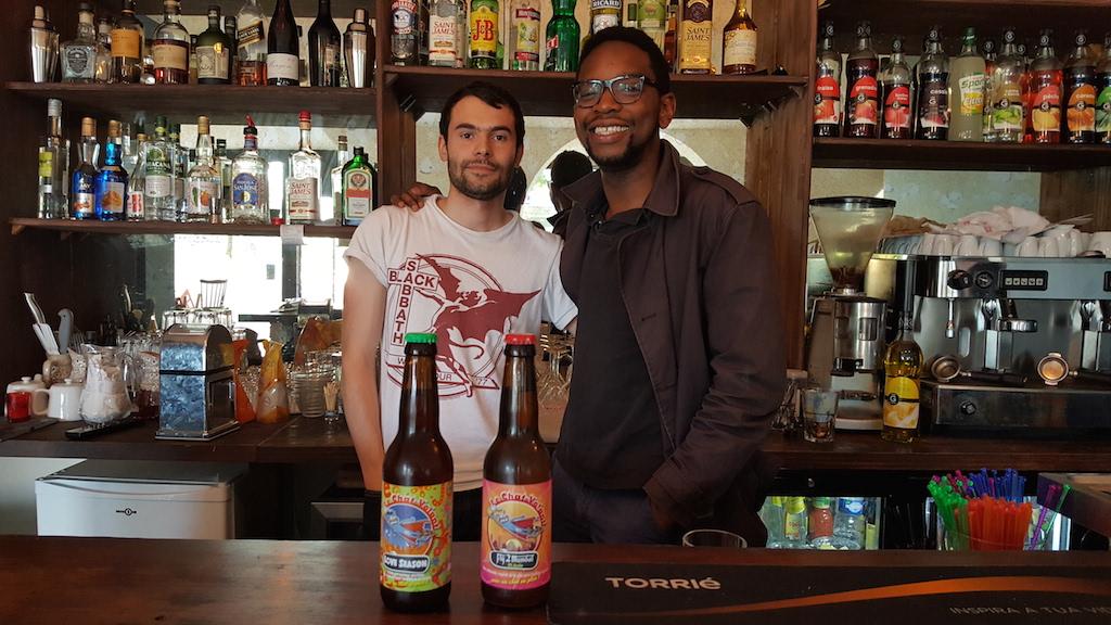 Mathieu et Lucas, fondateurs du Barrabouda à Cergy / DR