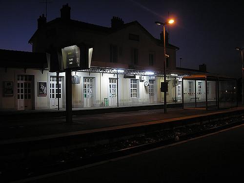 Gare de Longueville en Seine-et-Marne / © Victor Brito - Flickr