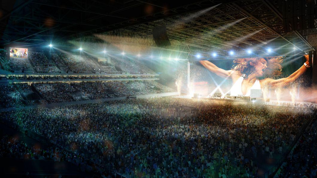 U Arena à Nanterre / © Agence Christian de Portzamparc