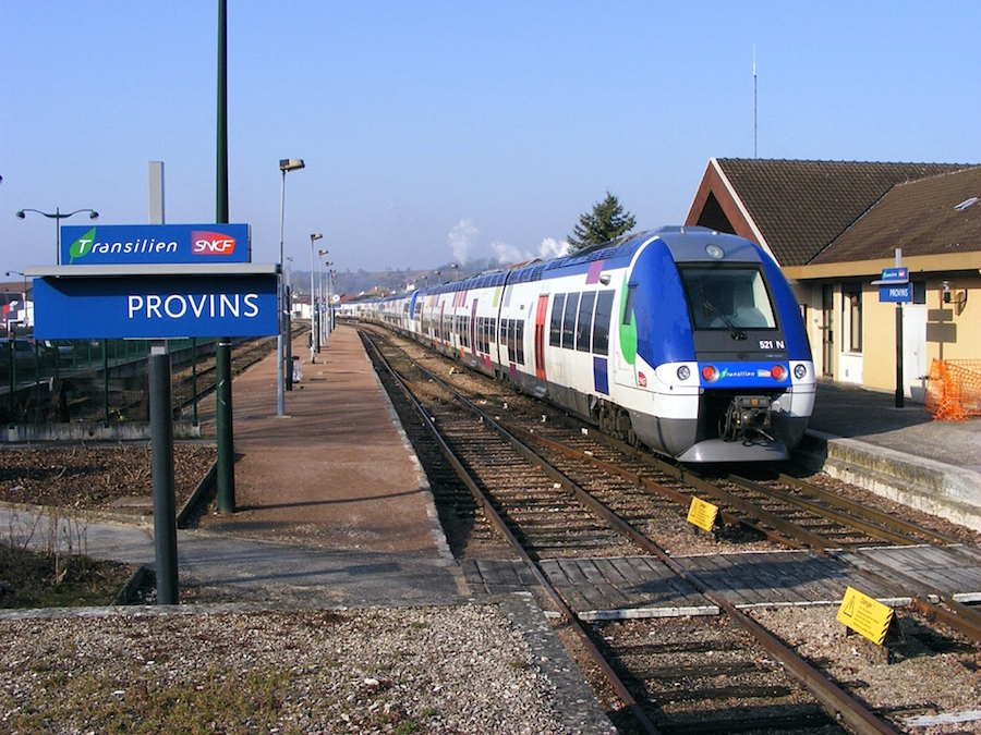 Gare de Provins / DR