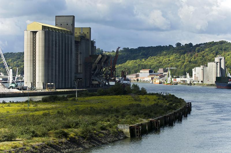 Zone industrielle de Rouen / DR